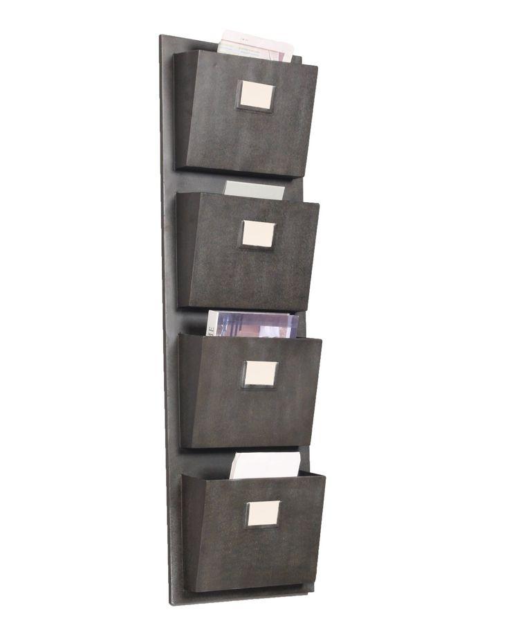 4 Slot Hanging Metal Mailbox
