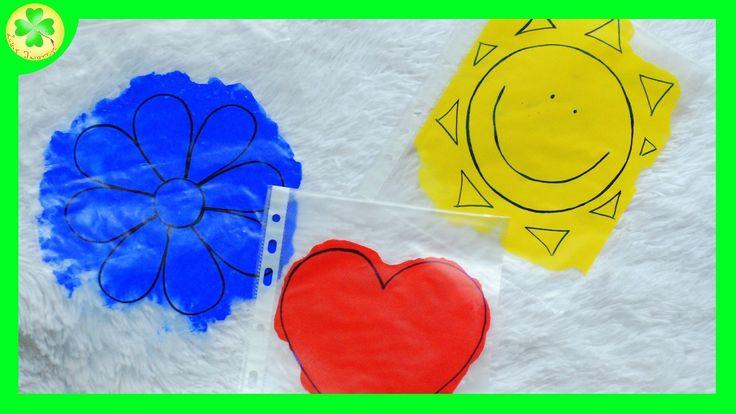 Zajęcia sensoryczne z użyciem farb i folii / Sensory activities with pai...