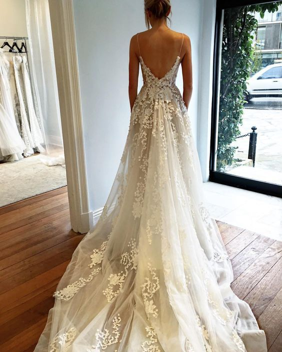 Elegant Lace Tulle Wedding Dresses Simple Design 3 4 Lace: 25+ Best Ideas About Expensive Wedding Dress On Pinterest