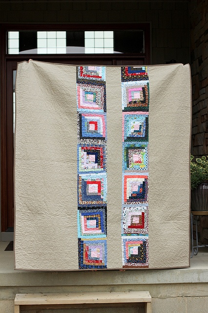 319 Best Images About Log Cabin Style Quilts On Pinterest