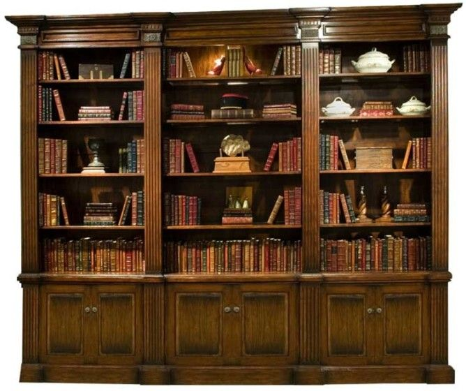18 Awesome Home Library Bookcases Pic Ideas Bookcase