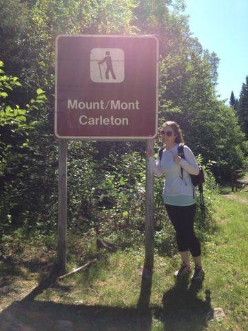 Georgia's Trying Something New blog: Hiking Mount Carleton