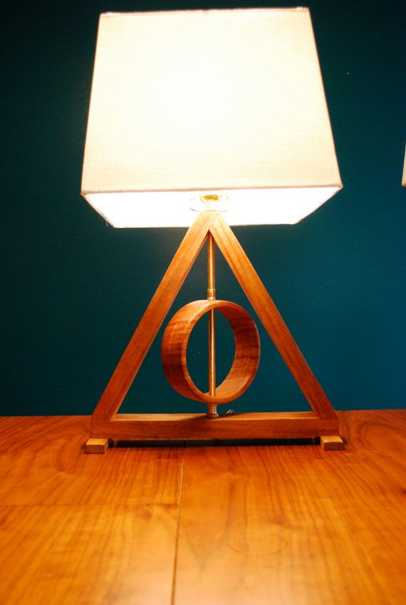 Deathly Hallows Table Lamp Harry Potter Kids Lamp Living