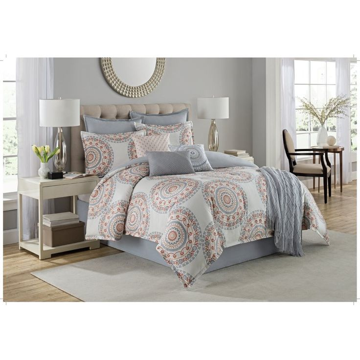 You'll love the Bakewell 10 Piece Cotton Comforter Set at Joss & Main - With Great Deals on all products and Free Shipping on most stuff, even the big stuff.