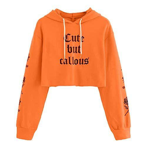 niño compra original Tienda Mujer Sudaderas Cortas K-Youth Sudaderas Tumblr Mujer Cortas ...
