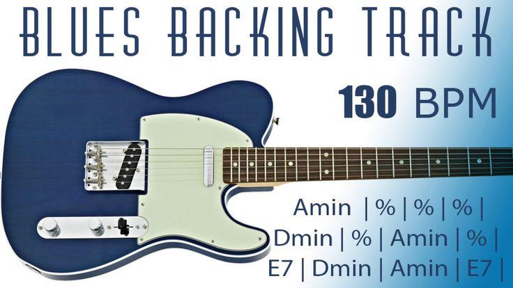 Minor Blues Backing Track in Am 130 BPM Backing tracks