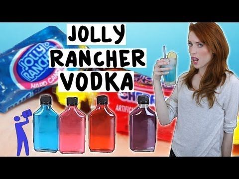 How to make Jolly Rancher Vodka!  -  Tipsy Bartender