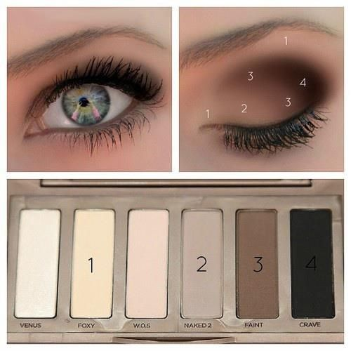 New naked mini pallet.. My theory is.. This is the only think u really need for a makeup pallet.. It pretty awesome, especially for blue eyes because brown shades make the blue stand out!