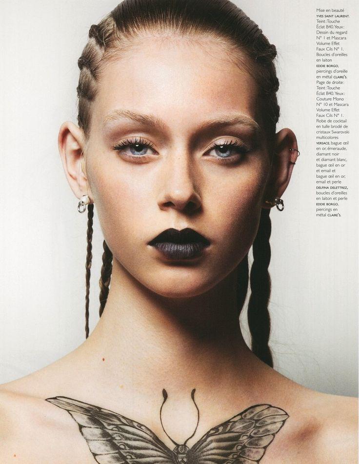 TOP NEWCOMER LAUREN DE GRAAF IS NEW WITH US !! | Munich Models Blog