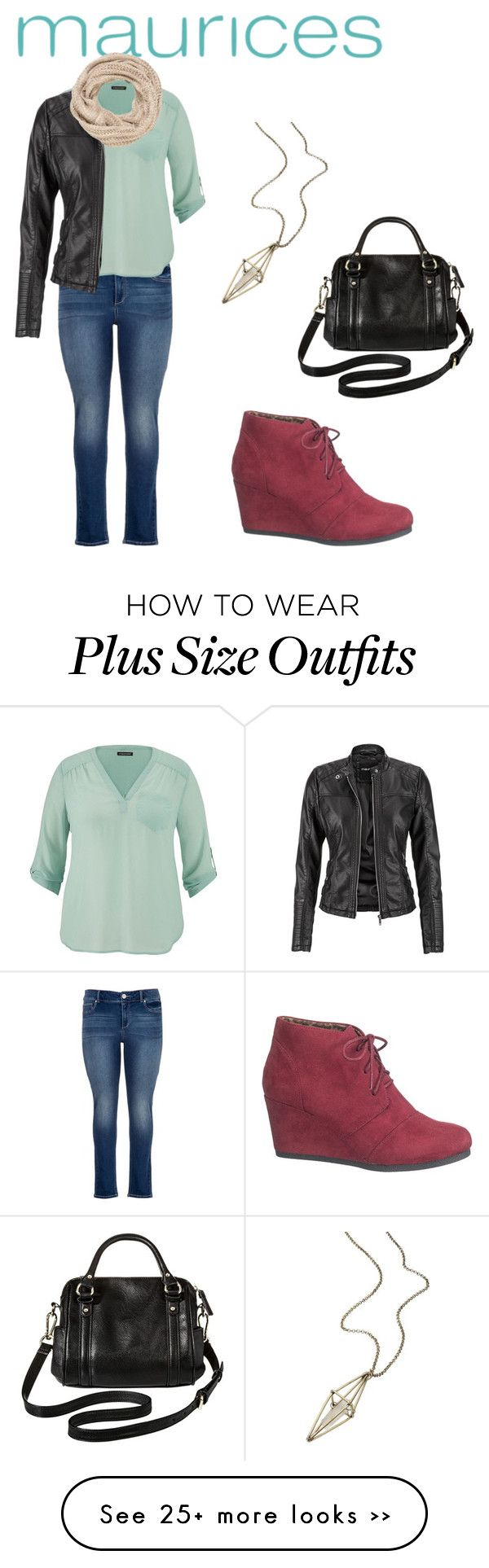 """The Perfect Blouse with maurices: Contest Entry"" by erama on Polyvore featuring maurices and Merona"