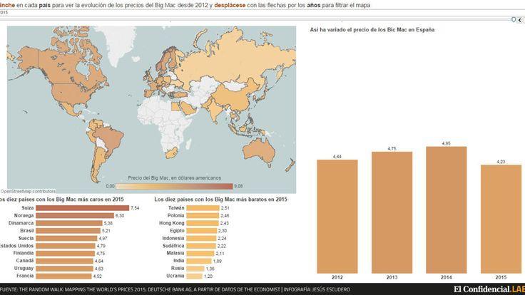 ¿Es Alemania más cara que España? El índice Big Mac acaba con el mito. Noticias de Economía. El estudio compara el precio de la célebre hamburguesa de McDonalds en los distintos países del mundo como medida de la evolución de sus precios