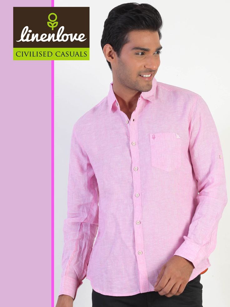 Keep your ‪#‎wardrobe‬ updated with fashionable ‪#‎clothes‬, by picking up LinenLove's ‪#‎shirts‬ Shop now: http://bit.ly/YCpHu7
