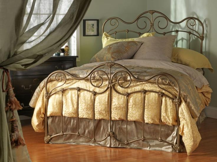 Wesley Allen Stonehurst Iron Bed Iron bed frame, Iron