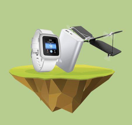 Διαγωνισμός με δώρο Smartwatch Pebble Time, Mini Drone & Powerbanks