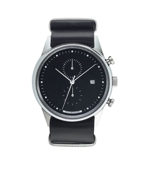 HYPERGRAND MAVERICK CHRONO BLACK LEATHER.  www.tokki.com.au
