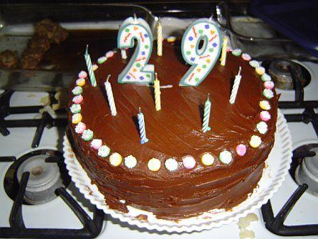 29TH Birthday Cake Design
