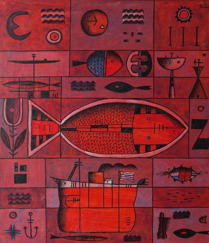 Scarlet Series. Manuel Pailos 1981