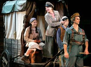 Meryl Streep in Mother Courage and her Children