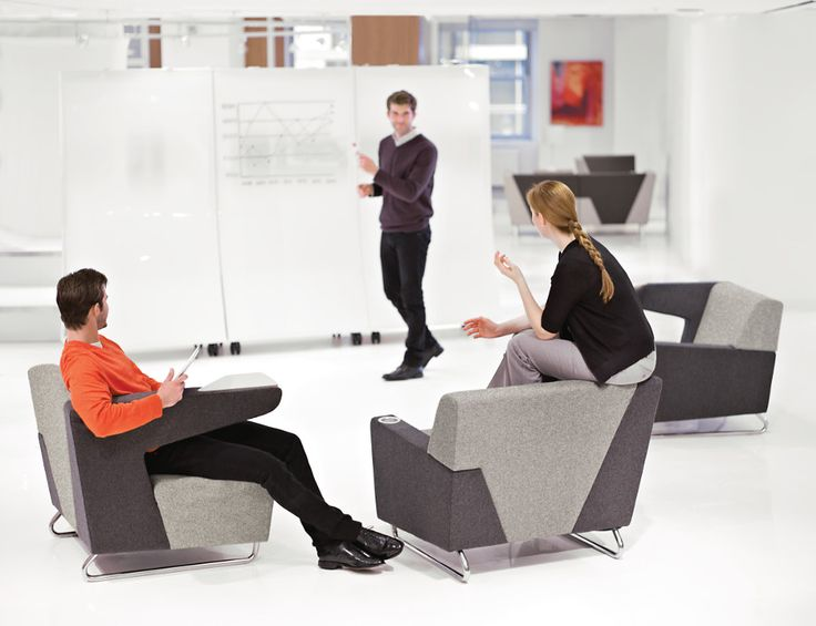 Provide alternative meeting locations which have been shown to increase creativity and employee engagement. At KI, we define Active Design by encouraging movement at work! #ActiveDesign #MyWay