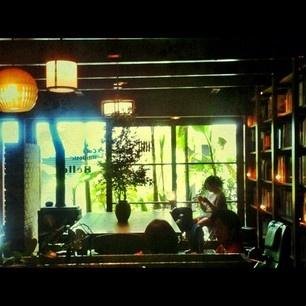 Cafe bibliotec hello #japan #kyoto