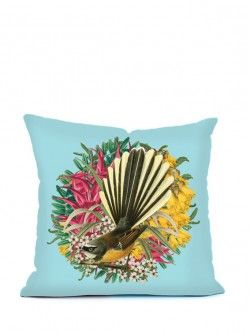 Botanical Fantail – Cushion Cover | Design Withdrawals