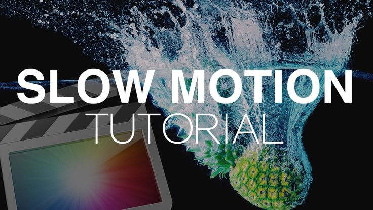 Slow Motion Tutorial – Final Cut Pro X
