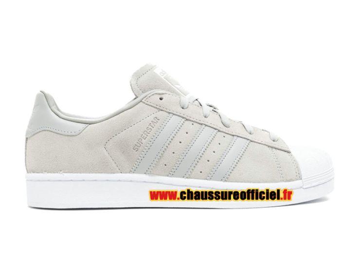 Adidas Superstar W Chaussures Adidas Pas Cher Pour Homme Gris / blanc clair s76157