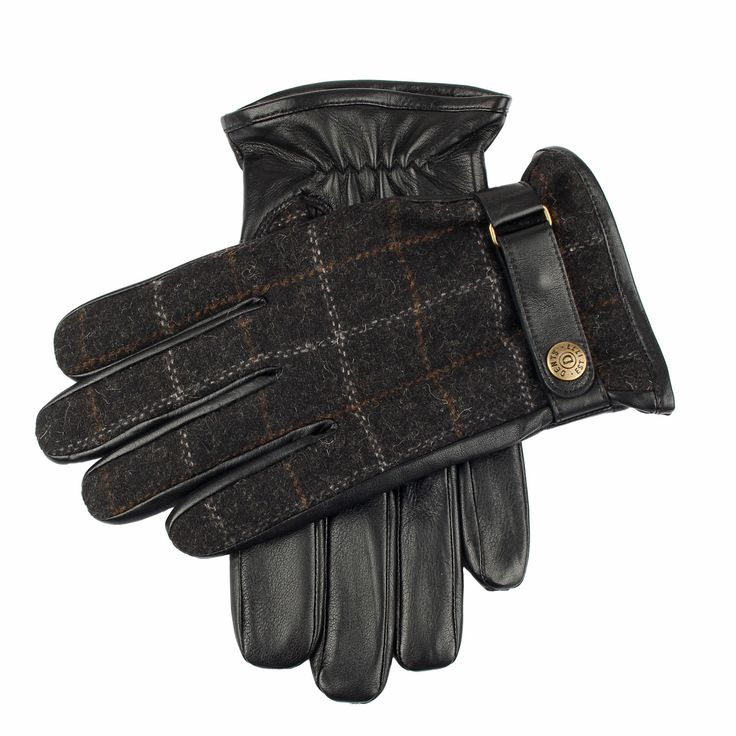 Dents Glove leather/tweed - Hats, Scarves & Gloves - Accessories - Shoes & Shirts