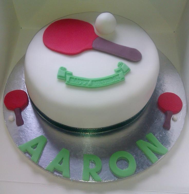 tennis birthday cake images