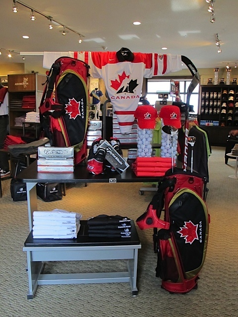 Hockey Canada display