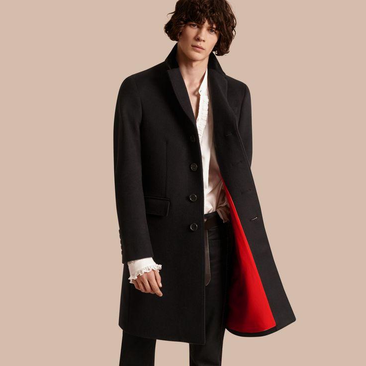 manteaux vestes pour homme burberry manteau en laine. Black Bedroom Furniture Sets. Home Design Ideas