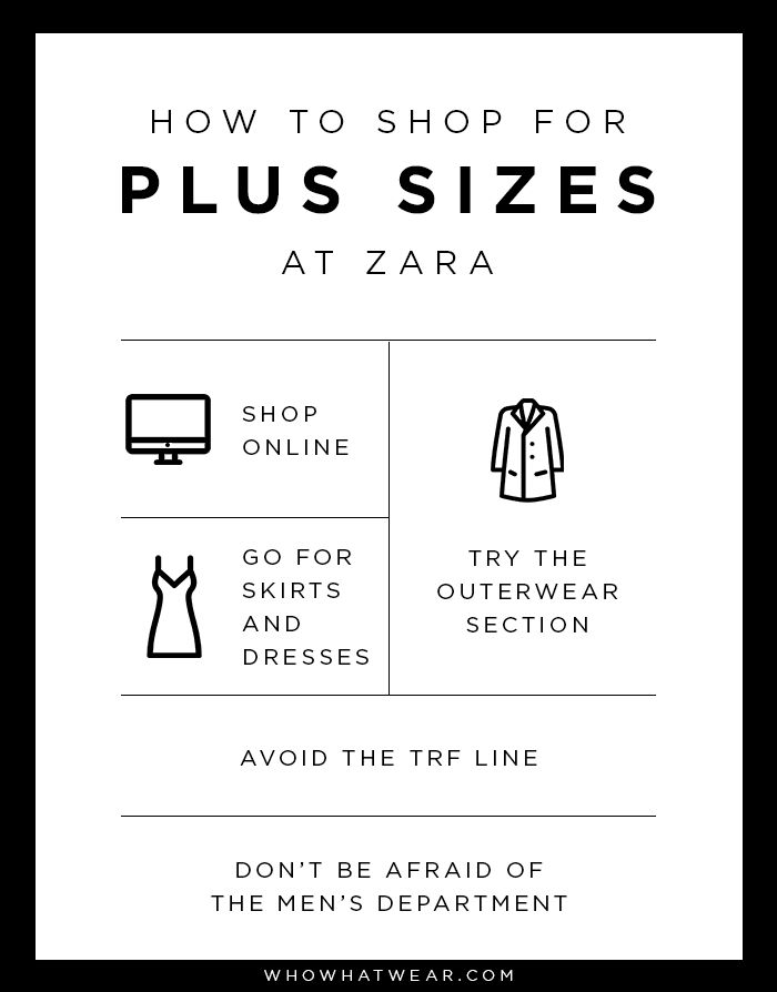 The best tips for shopping plus-size at Zara.