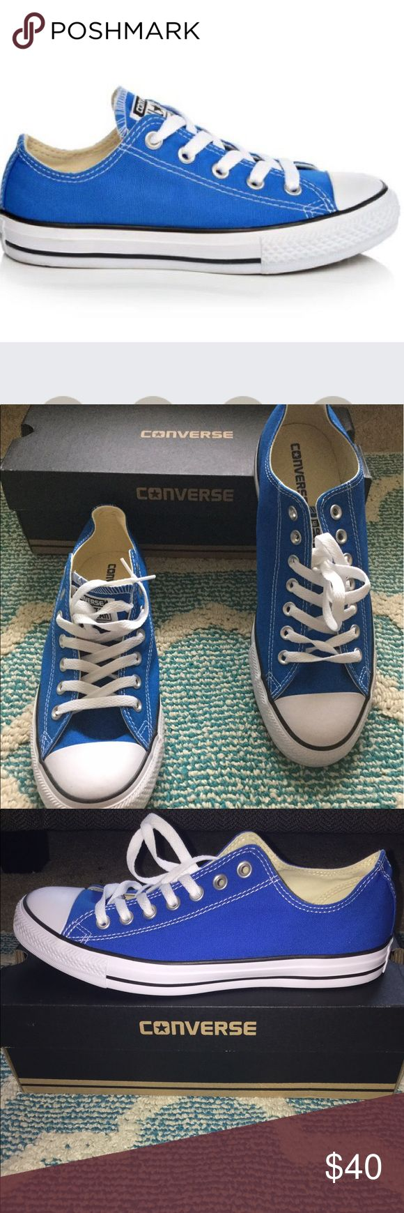 🌟NEW🌟Converse OX Soar Sneaker Brand new in box! Never worn! Beautiful blue color great for the summer! Dress up with a polo or dress down with jeans and a Tee! Perfect for Father's Day! 👕👖👟👍 Converse Shoes Sneakers