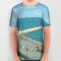 ART OF MEDITERRANEO All Over Print Shirt by Marco Consiglio