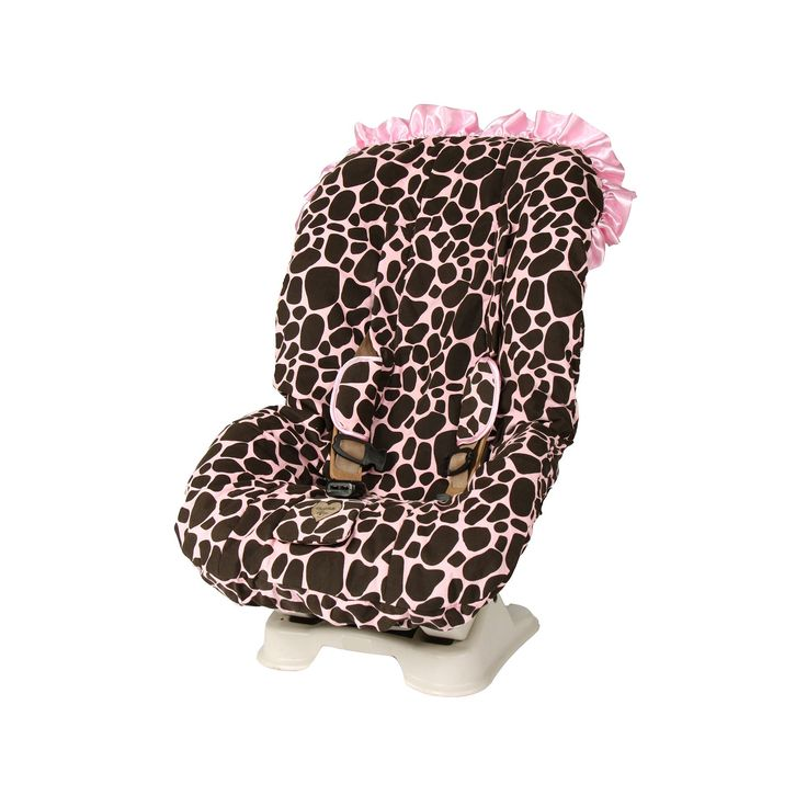 Baby Bella Maya Ginny Giraffe Toddler Car Seat Cover, Brown
