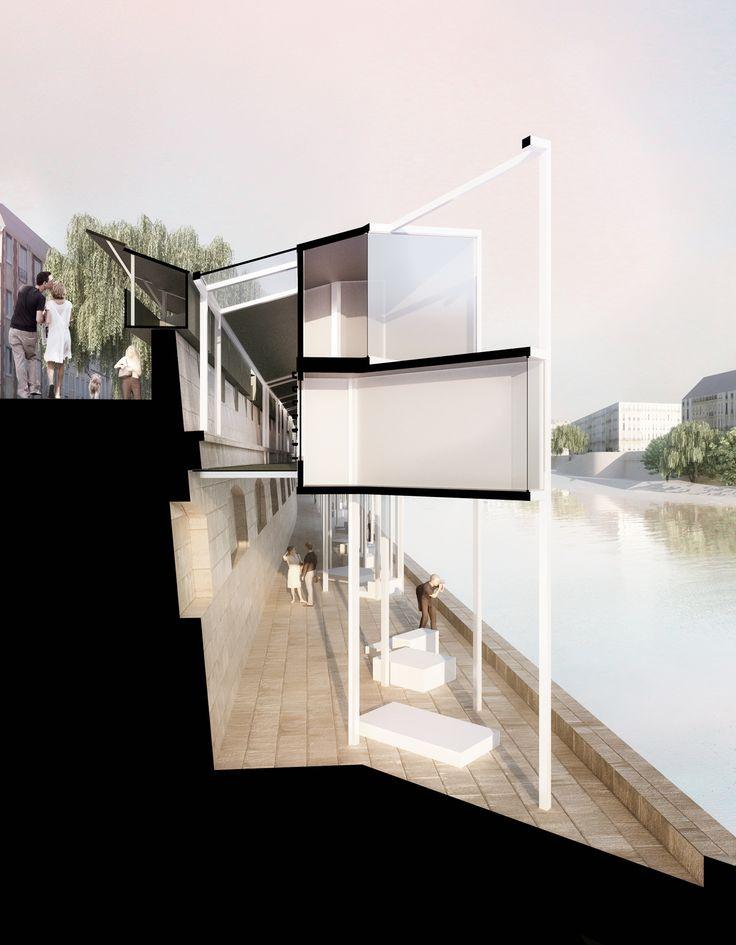 Galería - MenoMenoPiu propone hotel cápsula para turistas en París - 5