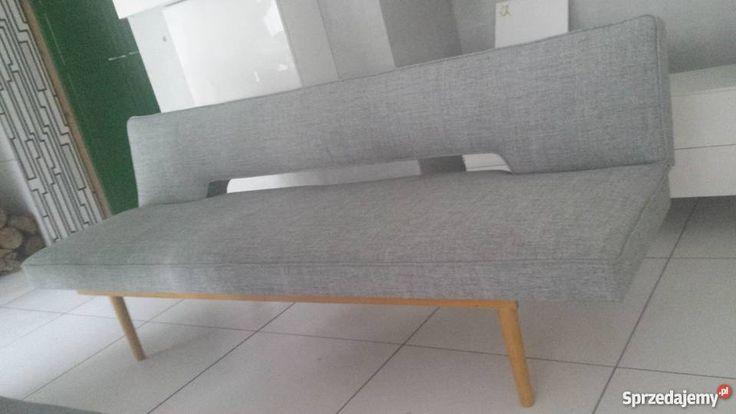 Unikat sofa, kanapa, wersalka PRL, vintage, retro Poznań