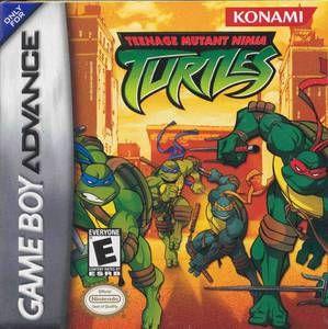 Complete Teenage Mutant Ninja Turtles   Game Boy Advance