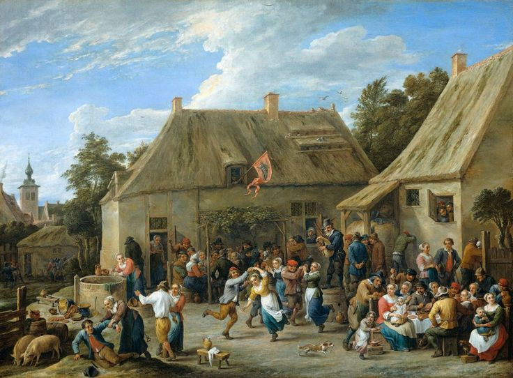 siftingthepast_Country Kermis_David Teniers the Younger_1665