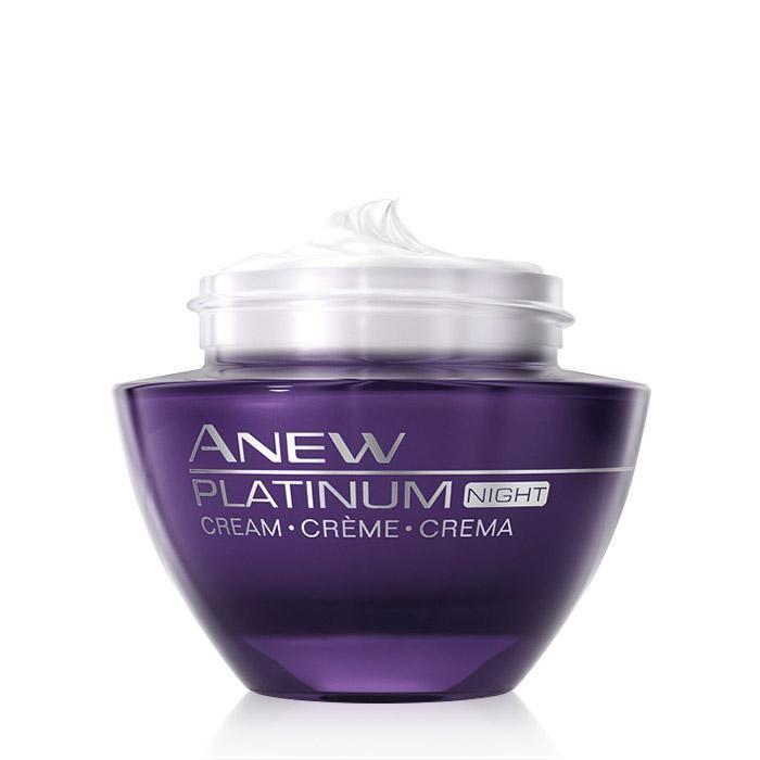 Anew Platinum Night Cream With Images Night Creams Face Cream