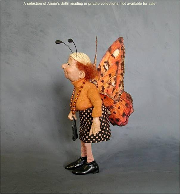 Annie Wahl's old folks....I just love Annie Wahl dolls!