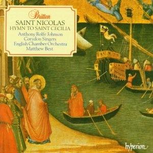 Britten: Saint Nicolas A Cantanta Op.42 & Hymn To Saint Cecilia Op.27