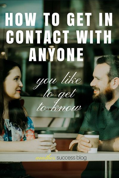 Having a powerful network of people is important. Learn how to get in contact with anyone you like. Get in touch with strangers is a skill you can learn. | Entrepreneur & Success Coaching | Motivational Quotes | Law of Attraction |  The Secret |  Positive