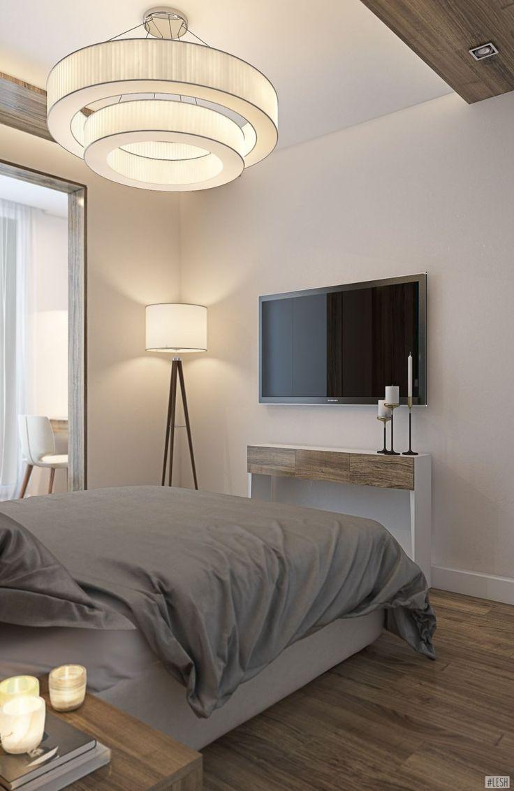 Оформление спальной комнаты в бежевых тоннах