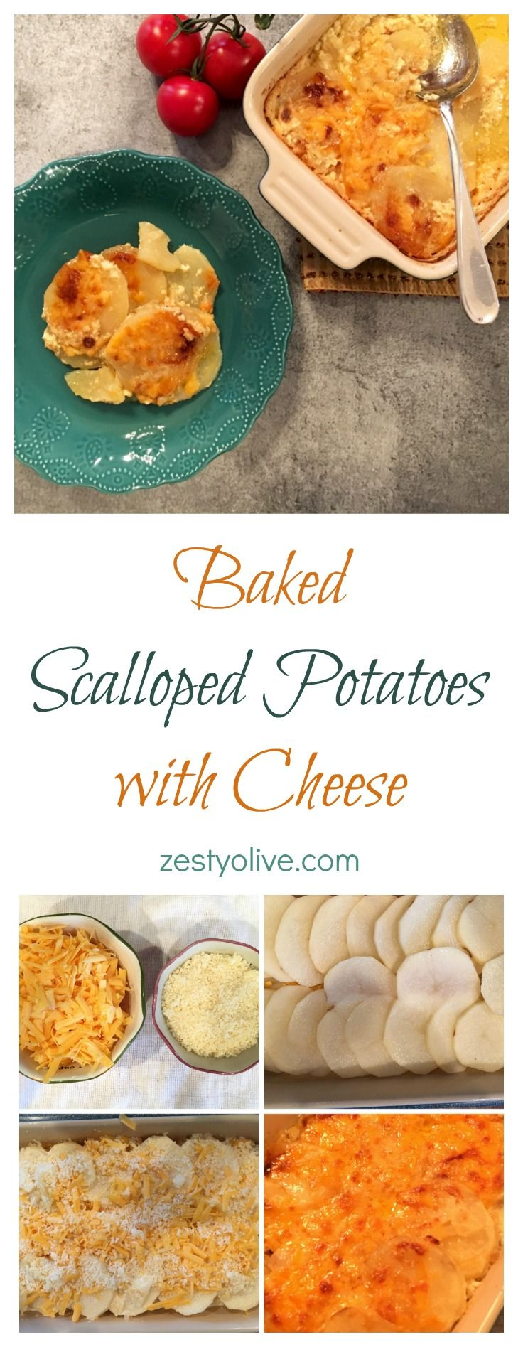 Baked Scalloped Potatoes With Cheese