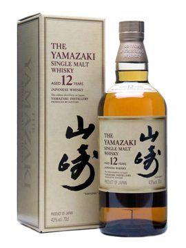 Suntory Yamazaki 12 Year Old.