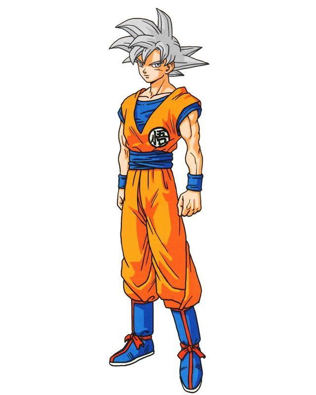 Goku SSJG White (Official)
