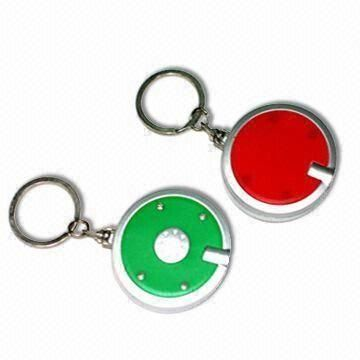 Mini LED Keychains, Easy to Use, Available with Flashlight Function