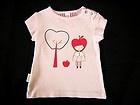 SOOKI BABY Adorable Baby Girls Pastel Pink 'I Love Apples' Cotton Tee Top! SZ0