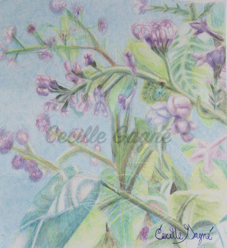 Lilac Awakening by CecilleGagne on Etsy https://www.etsy.com/ca/listing/519802192/lilac-awakening